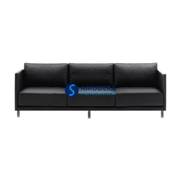 Sofa kantor indachi vere 3 seater for Sofa bed yang bagus merk apa