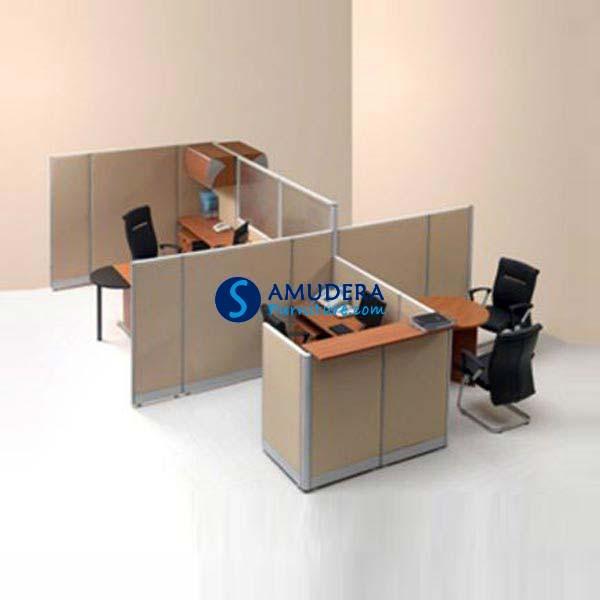 Jual Partisi Kantor Modera 3 Seat Manager 5 Series Murah
