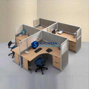 partisi-kantor-modera-4-seat-manager-5-series