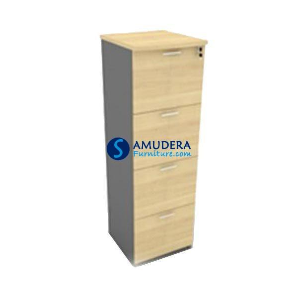 Filing Cabinet Kayu Murah 4 Laci,Filing Cabinet Modera BFC 7404