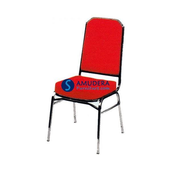 Jual Kursi Susun Futura FTR 416 Merah - Kursi Hotel - Kursi Pesta