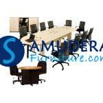 Toko Online Furnitur - Meja Meeting Kantor Dino Monaco