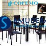 Jual Meja Makan Murah, Meja Makan Cofemo JC03 MC03 Minimalis