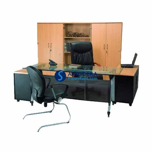 Meja Direktur Murah, Meja Direktur Aditech SE 6002, Meja Kantor Murah