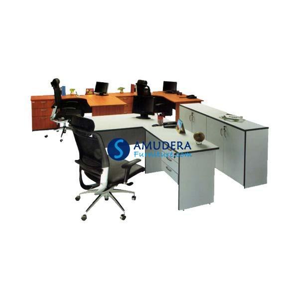 Jual Meja Kantor Staff Arkadia Pro Excel 1, Meja Kantor Staff Murah