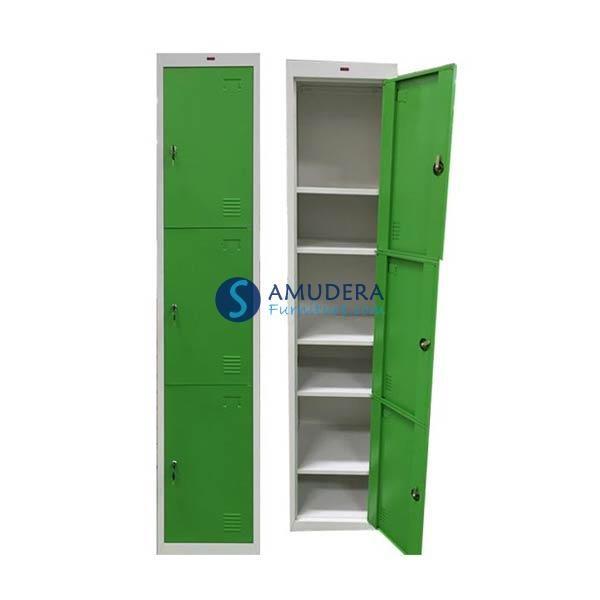 Jual Locker Besi Murah, Locker 3 Pintu, Locker Besi Prospek LC 211