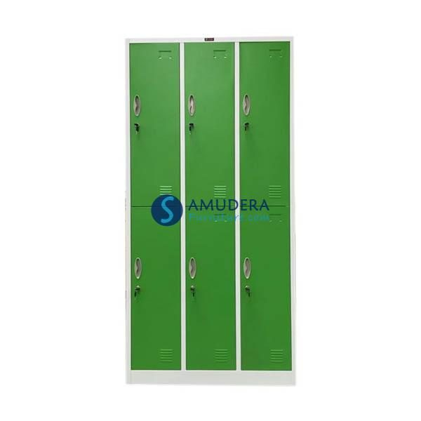 Jual Locker Besi Murah, Locker 6 Pintu, Locker Besi Prospek LC 211