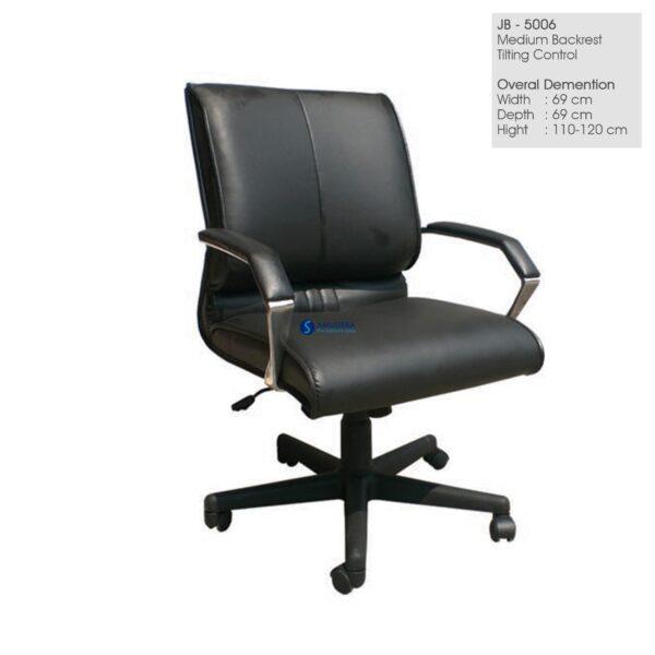 Jual Kursi Kantor Baru, Kursi Kantor Manager Junior JB 5006