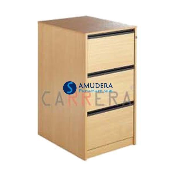 Jual Filing Cabinet Carrera CAP 3 Harga Murah, Filing Cabinet Kayu 3 Laci
